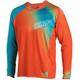 Leatt Brace DBX 4.0 Ultraweld Bike Jersey Longsleeve orange/turquoise